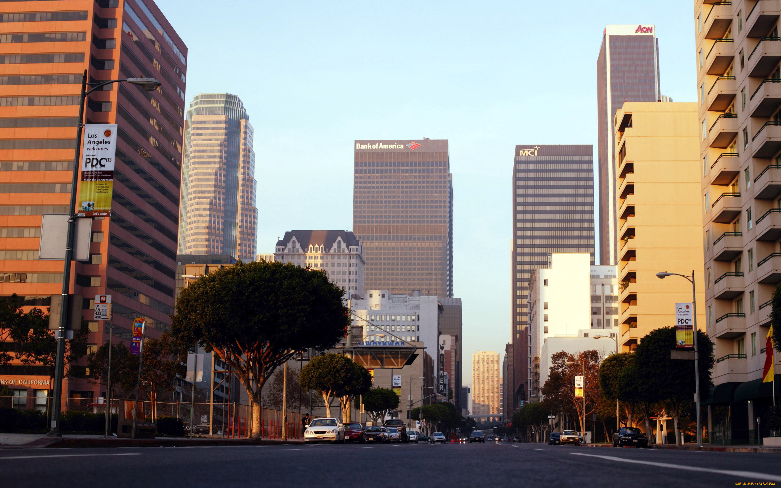 стол улицы лос анджелеса фото на рабочий стол итоге